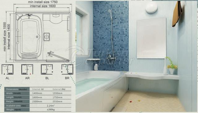 Unit Bathroom BH-1416